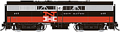 Rapido 22539 HO - DC/DCC/Sound - Alco FPB-2 New Haven (McGinnis) #468 - Pre-order