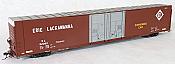 Tangent Scale Models 25025-06 - HO Greenville 86ft Double Plug Door Box Car - Erie Lackawanna #92085