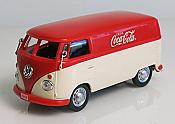 Atlas O Scale 1962 Volkswagen Panel Van Coca-Cola Red/White