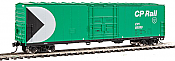 Walthers Mainline HO 2055 - 50 Ft FGE Insulated Boxcar - CP Rail #85096