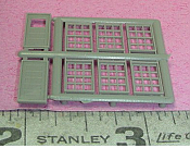 Grandt Line 8001 - 1:160 N scale - Windows & Doors Set