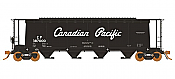 Rapido 127014 HO 3800 Cubic Feet Covered Hopper - Canadian Pacific - Script (6pk) - Pre-order