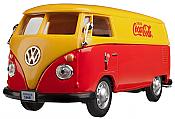 Atlas O Scale 1962 Volkswagen Panel Van Coca-Cola Red/Orange