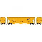 Athearn 18769 - HO RTR PS 4740 Covered Hopper, C&NW/Yellow #174850