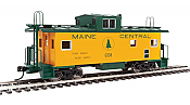 Walthers Mainline 8755 - HO International Wide-Vision Caboose - Maine Central #658