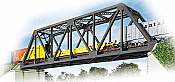 Walther's Cornerstone Single Track Truss Bridge - Kit