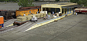 Walthers 2918 HO Cornerstone Open Air Transload Building