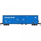 Athearn RTR 67722 - HO 50ft Evans Double-Door Plug Boxcar - Georgia Pacific/USLX #11881