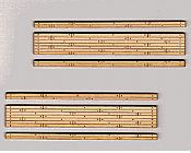 Blair Line 120 HO Rough-Cut 2-Lane Wood Grade Crossing - Kit