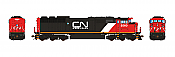 Aurora Miniatures Inc HD1N12B HO - GMD SD60F Diesel - DC/Silent - CN (Website) #5560