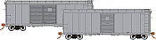 Rapido 123099 HO Scale - PRR X31A Double-Door Boxcar: Undecorated Kit - Single Car