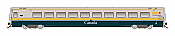 Rapido 508005 - N Scale - LRC Coach - VIA Green Scheme