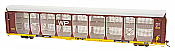 InterMountain 45279 - HO Bi-Level Auto Rack - Western Pacific/Trailer Train Flat Car #915212