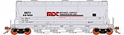 Rapido 133010-6 - HO ACF PD3500 Flexi Flo Hopper - Merchants Despatch Trans Corp MDTX Version 2(963H) Repaint Scheme-inservice 1990 No. 897885