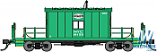 Bluford Shops 34330 HO Scale Transfer Caboose New York Central #18155