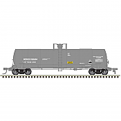 Atlas 20005631 HO 17,360 Gallon Chlorine Tank Car HOKX (rect 2003) No.132526