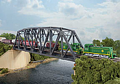 Walthers N Scale 3870 Cornerstone Single-Track Arched Pratt Truss Bridge - Kit