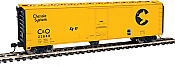 Walthers 2835 HO Mainline 50ft PC&F Insulated Boxcar Chesapeake & Ohio C&O #22848