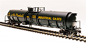 Broadway Limited 6312 - HO Cryogenic Tank Car - Air Products (2pkg)