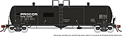 Rapido 135005-F HO Scale - Procor GP20 20K Gal Tank Car: PROX Modern w/ Small Logo - Single Car #46038