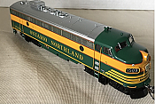 Rapido Trains 222525 -HO GMD FP7 - DCC/Sound - Ontario Northland (Early) #1509