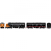 Athearn Genesis G19545 HO Scale - F7 A/B EMD F-Unit Diesel - DCC & Sound - Southern Pacific/ Freight #6362/8248