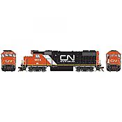 Athearn Genesis G68855 HO Scale - GP38-2 - DCC & Sound - Canadian National/IC w/Web site logo #9574