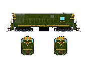 Rapido 044025 HO FM H16-44, Standard DC, Canadian National As Delivered Scheme No.2203