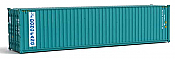 Walthers SceneMaster HO 8268 40 Ft Hi-Cube Corrugated Container - Assembled - Dong Fang