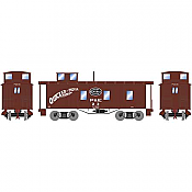 Athearn RND17942 HO Scale - 30Ft 3-Window Caboose, NYC #26