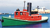 Sylvan Scale Models 1025 - HO Scale - Great Lakes Steam Diesel Tugboat Kit - Unpainted and Resin Cast