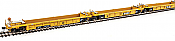 WalthersMainline 55609 HO Thrall 5-Unit Rebuilt 40 Ft Well Car - TTX DTTX 740766 A-E