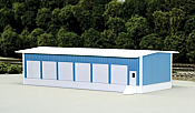 Pikestuff 8004 - N Scale Truck Terminal (Scale: 30 x 80ft) - Blue