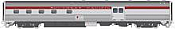 Rapido 114041 HO Scale - Budd Baggage-Dorm - Southern Pacific Railroad Police #250