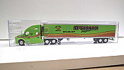 Trucks n Stuff TNS031 - HO Kenworth T680 Sleeper-Cab Tractor - 53ft Reefer Trailer - St. Germain