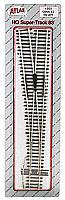 Atlas Model Railroad Code 83 Turnouts #6 Left Hand Super Track