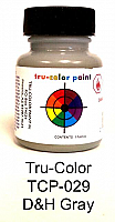 Tru Color Paint 029 - Acrylic -D&H Gray  - 1oz