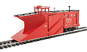 WalthersProto 110024 HO - Russell Snowplow - Ready to Run - Canadian National #55245 (red, Noodle Logo)