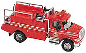 Boley American Trucks - International 7000 2-Axle Standard Cab Brush Fire Truck - Red