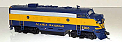 Bowser Executive Line Diesel F7a DCC & ESU Lok Sound Alaska Railroad #1508