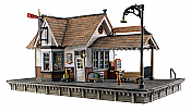 Woodland Scenics 5052 - HO Built-&-Ready Landmark Structures - The Depot