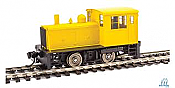 WalthersMainline 20013 Plymouth ML8 IND Switcher Yellow Stripes Unlettered
