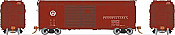 Rapido 123008-F HO Scale - PRR X31A Double-Door Boxcar: Circle Keystone - Single Car #69434