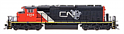 Intermountain Railway 49307S-08 HO EMD / GMDD SD40-2W, Canadian National #5345 ESU DCC & Sound