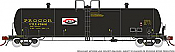 Rapido 135002-F HO Scale - Procor GP20 20K Gal Tank Car: UTLX As Delivered Split P Logo - Single Car #47919