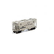 Athearn 14576 HO PS2 2600 2-Bay Hopper, Wheeling&Lake Erie No.876301