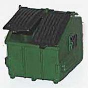 N. J International 6601 HO - 8 Yard Standard Container - Trash Bin