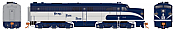 Rapido 23521 HO - PA-1 Single Locomotive - DCC & Sound - Nickel Plate #186