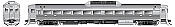 Rapido 16500E HO RDC-1 (Phase 11) – Painted, Unlettered with ditchlights - DCC & Sound