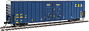 Walthers 2914 HO 60ft High Cube Plate F Boxcar CSX #173565